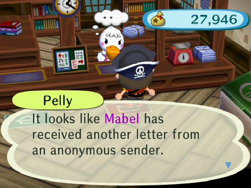 Pelly knows something!