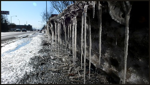 The splendor of breakup, midtown Anchorage.