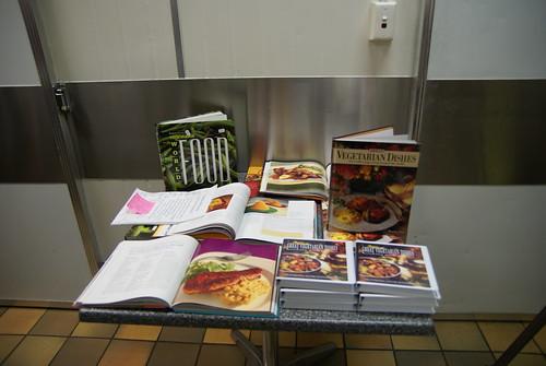 The cookbooks