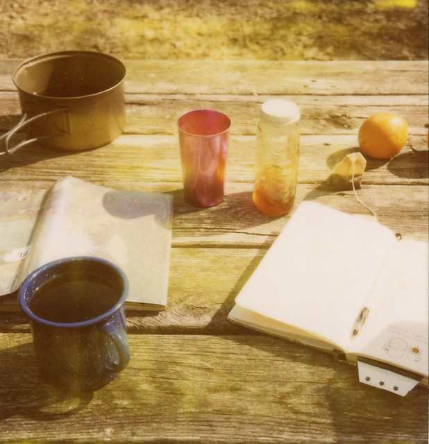 tea and camping