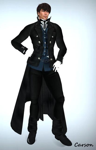 BB - Sebastian Outfit for Black Butler Hunt #7