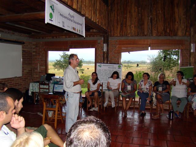 Prof. Alfredo Martin e os Ambientalistas Educadores