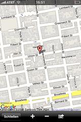 Die Position eines Fotos wird in Google Maps angezeigt