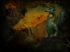 Fire Breathing Dragon - Burning Down The Castle