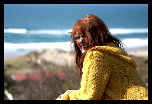 Me at the Oregon Coast today
