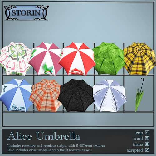 .:StoRin:. Alice Umbrella