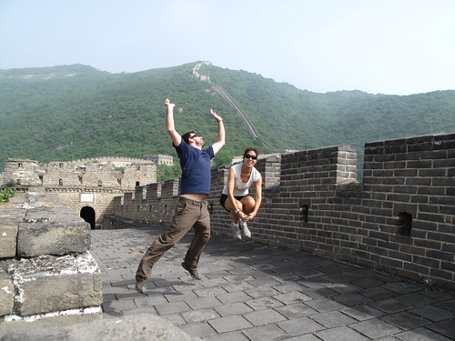 Being Silly at the Great Wall