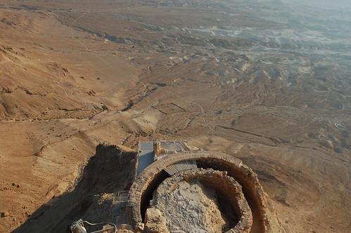 Masada multi-level palace