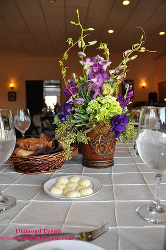 Centerpieces by Heaven on Earth Wedding Flowers