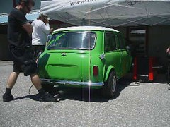 Green Mini on the Dyno!