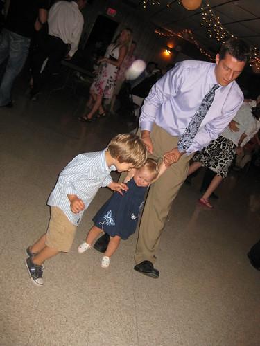 Davis' dancing