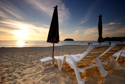 Kata Beach at Phuket, Thailand (by scott photos)