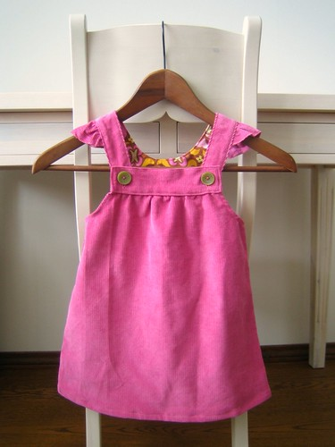 corduroy dress front