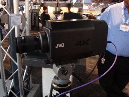 JVC Ultra 4K Camera