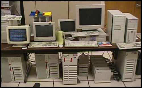 Googles hårdvara 1998.
