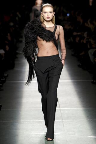 Furry sleeve Givenchy
