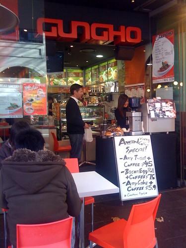 Gungho cafe, haymarket.