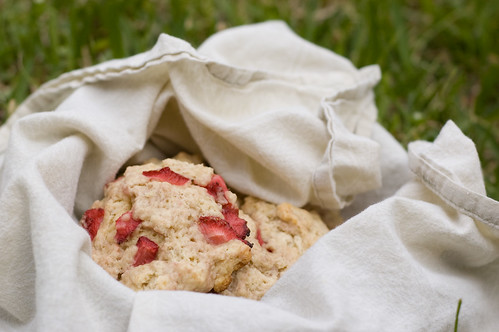 strawberry scones (by bookgrl)