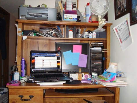 My Desk :)