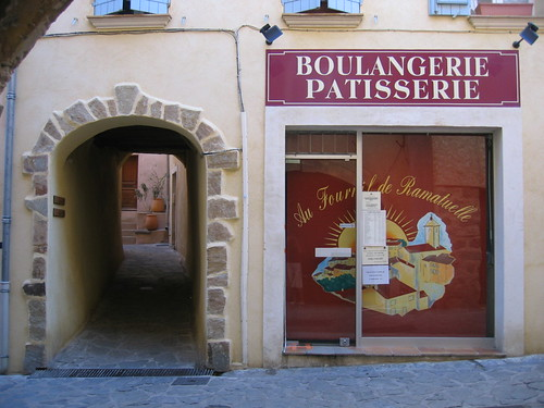 The bakery in Ramatuelle