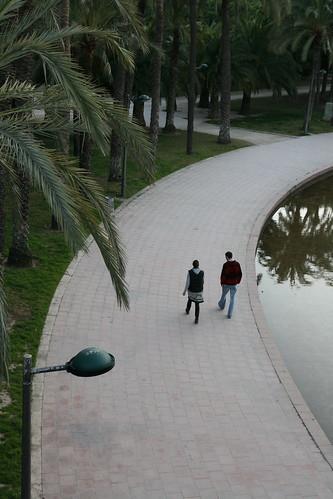 Jardin del Turia Couple