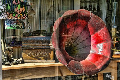 Through the Window #33—Edison Standard Phonograph