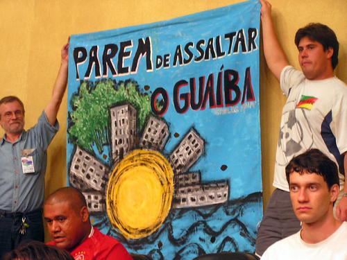 Audiência Pública sobre Orla do Guaíba por você.