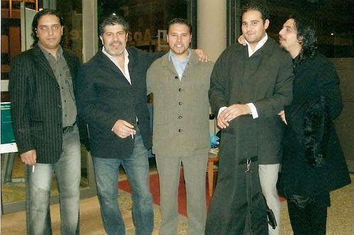 Luis con Potito Guadiana Ramon y diego Morao