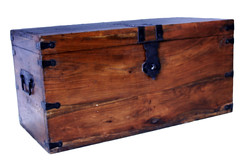 Box 1 -Wooden Chest.