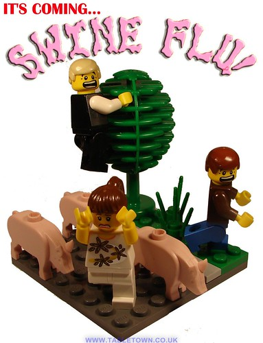 LEGO Swine Flu Pandemic vignette