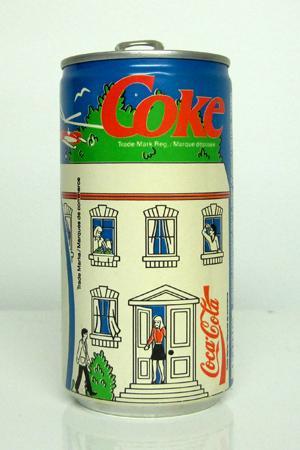Vintage Coca Cola can