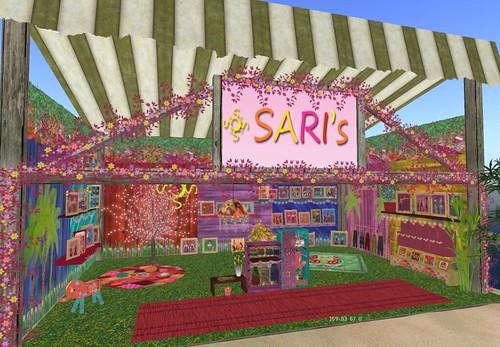 Saris RFL Clothing Fair Booth