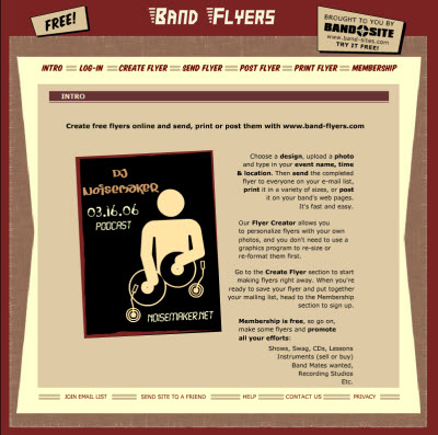 band-flyers