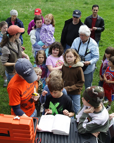 Little Explorers Visit Bird Banding Station