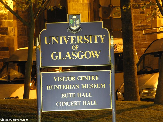 Welcome to the University of Glasgow