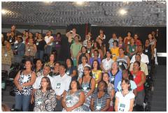 Educadores e membros da sociedade discutem a Educação de Jovens e Adultos. Foto: Passarinho/Pref.Olinda