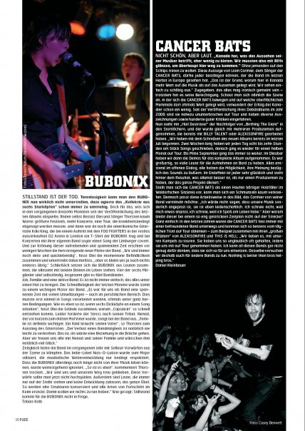 fuze magazine/Cancer Bats