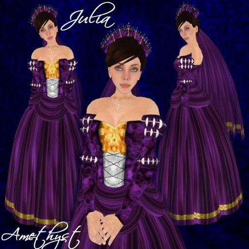 Julia - Amethyst - Ad