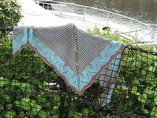 This is Ulmus ~ the pattern Im thinking to knit with my MGC yarn - so pretty, isnt it?!