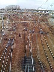 Train tracks, Minami-senji