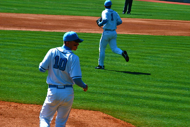 baseball: duke @ carolina, game 2