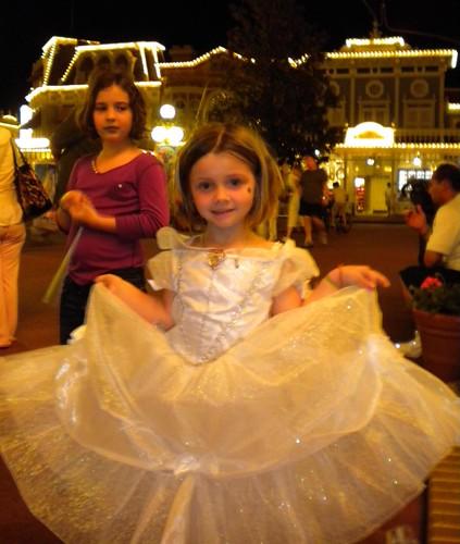 TuTu in her Bell Dress