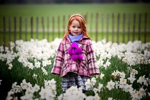 Outstanding in her field
