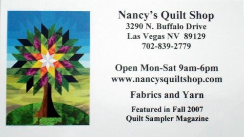 Las Vegas Quilt Shops | Adventures in Quilting : quilt stores in las vegas nv - Adamdwight.com