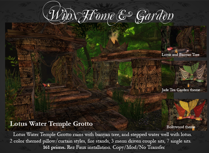 Winx-Lotus Water Temple Grotto