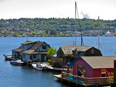 "The ""Sleepless in Seattle"" Houseboat"