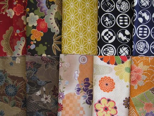 Kimono House Fabric Club Autumn 2009 by you.