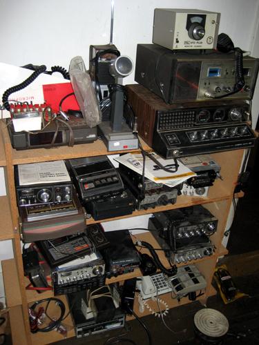 CB equipment anyone?