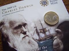 The Royal Mints £2 Darwin coin