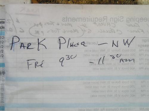 DPW work order?